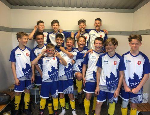 Jaunieji Trakų futboloninkai įveikė žalgiriečius