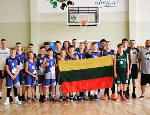 Jaunųjų krepšininkų stovykla Ukrainoje